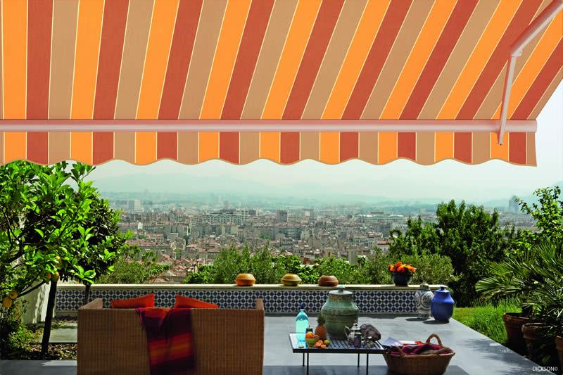 Installation store de terrasse Valence