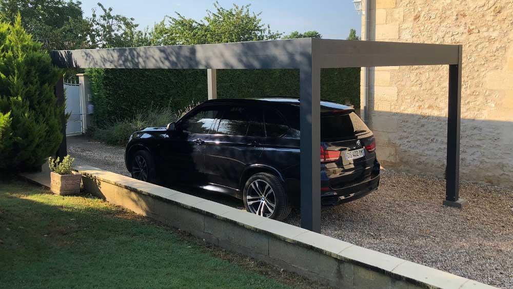Installation carport Valence