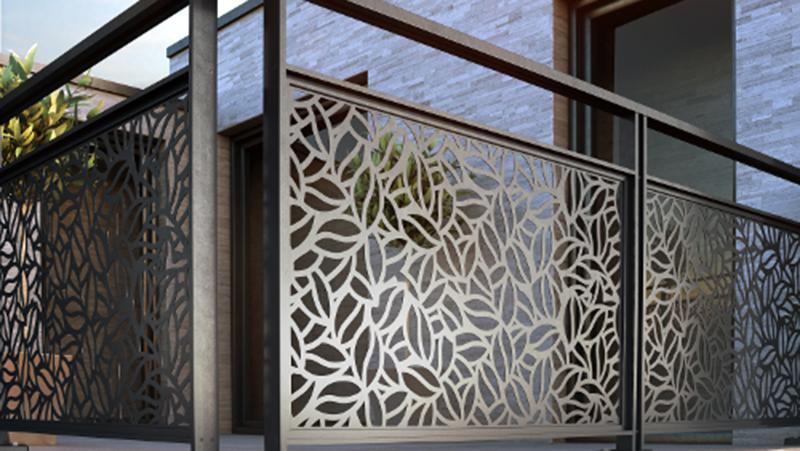 installation garde-corps en aluminium Valence