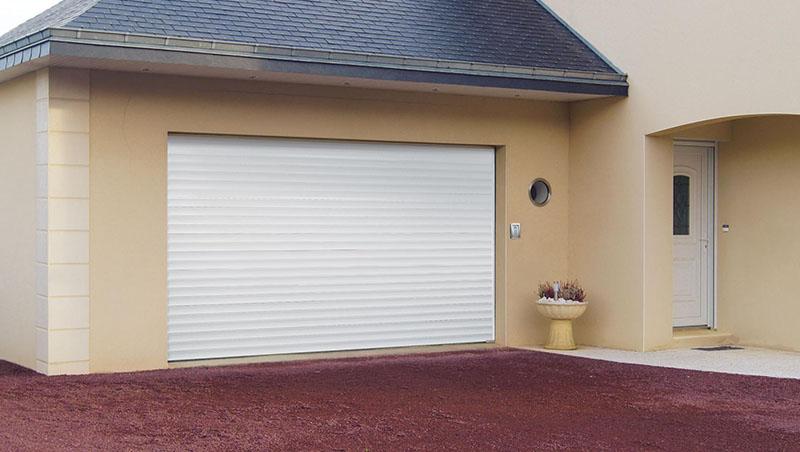 Pose porte de garage enroulable Valence