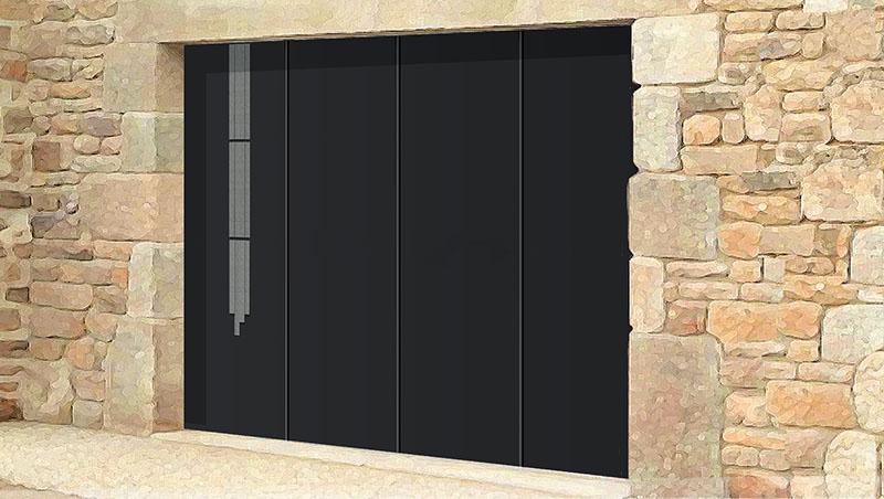 Pose porte de garage latérale Valence